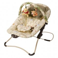 """Let your hunny lounge in sweet comfort in this Winnie the Pooh """"Picnic Place"""" Snug Fit Folding Seat"""