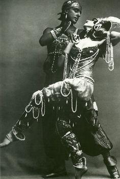 Michael Fokin & Vera Fokina, Ballet Russes production of Scheherazade, 1910