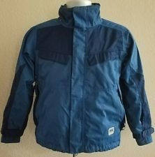 Helly Hansen Ski Snow Jacket & Fleece Liner Blue