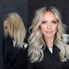 Natural Beaded Rows™ Hair Extensions by DKW Styling Pretty Hairstyles, Braided Hairstyles, Cool Blonde Hair, Hair Creations, How To Make Hair, New Hair, Hair Extensions, Short Hair Styles, Stylists