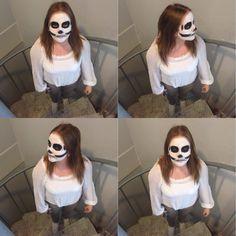 Dödskalle makeup