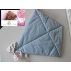 Cerf volant en tissu bleu à pois blancs Décoration Chambre Enfant