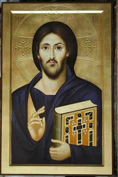 Religious Icons, Religious Art, Christus Pantokrator, Jesus Christ Images, Byzantine Icons, Catholic Art, Jesus Is Lord, Orthodox Icons, Ikon