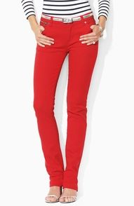 Red Pant Envy. Thank you Ralph Lauren.