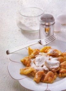 Kaiserschmarrn is a light, caramelized pancake made from a sweet batter baked in butter. You can vary it with nuts, cherries, plums, apple jam or small pieces of apple, or caramelized raisins and chopped almonds.