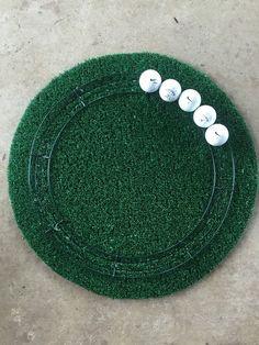 Golf Ball Wreath #GolfBallsAnyone?