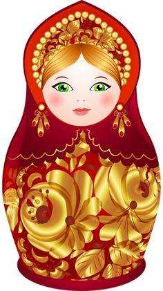 Nesting Doll with Golden Swirls pieces) Matryoshka Doll, Kokeshi Dolls, Russian Folk Art, Doll Crafts, Doll Patterns, Swirls, Paper Dolls, Christmas Crafts, Projects To Try