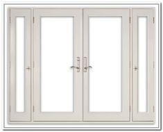 Single Patio Door with Side Lights | French Door Envirogreen ...