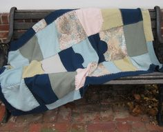 Cashmere Blanket - made from Felted Cashmere Sweaters by heartfeltbaby on Etsy