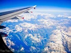 up above to land down under :) Somewhere Over, Personal Portfolio, Instagram Blog, Alps, Switzerland, Airplane View, Landing, Sydney, France