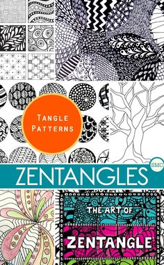 Ive Been Looking For Some More Zentangle Templates And These Are Perfect Click