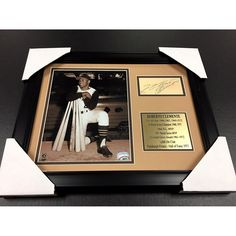 Roberto Clemente Signed Photo - Cut Facsimile Reprint Framed 8x10 - Autographed MLB Photos         -- Click on the image for additional details. (This is an affiliate link) #SportsCollectibles