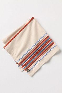 Patched Stripes Napkin Set #anthropologie