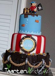 pirate boys birthday cake - Google Search