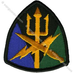 Army Patch: Special Operations Joint Forces Command - color