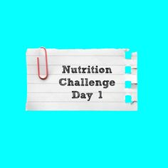 Nutrition challenge day 1 | Everyday Fitness and Nutrition