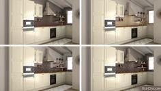 Proyecto de decoración #cocina #imagen3D #bocetos