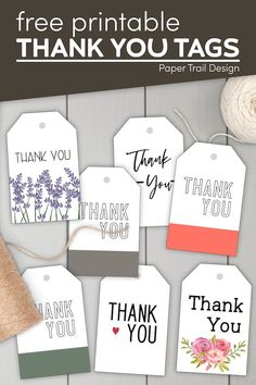 These thank you favor tags are perfect to attach to a gift to say thank you to a friend, loved one, or volunteer. Perfect for a graduation, wedding, or for teachers. Small Thank You Gift, Small Gifts, Teacher Thank You, Thank You Tags, Printable Designs, Free Printables, Party Printables, Printable Letters, Printable Cards