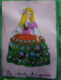 Vamos a trabajar Las Meninas Fíjate bien en este cuadro. Se llama Las Meninas o La familia de Felipe IV, y fue pintado por Velázquez. ... Art Gallery, Lunch Box, Kid Art, Home, Egypt, Colouring In, Souvenirs, Atelier, Art Museum