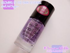 Glowing in the Dark Nail Art Topper @essence cosmetics