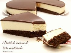 Ingredient s 1 ounce) package chocolate cake mix 1 g) package PHILADELPHIA Brick Cream Cheese, softened 1 egg 2 tablespoons s. Just Desserts, Delicious Desserts, Yummy Food, Sweet Recipes, Cake Recipes, Dessert Recipes, Dessert Thermomix, Mousse Cake, Pastry Cake