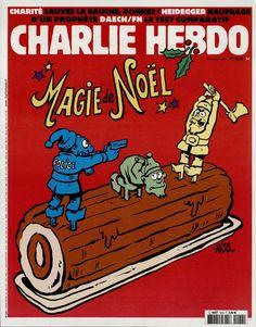 Charlie Hebdo - # 1222 - 23 Décembre 2015 - Couverture : Riss
