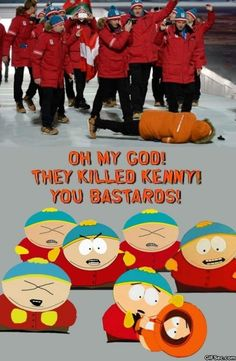 The killed kenny