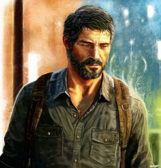 The Last of Us - Joel by *p1xer on deviantART - REALLY well done drawing of Joel from the Last of Us.