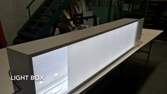 Led Light box sign, Under awning light box sign Awning Lights, Led Light Box, Design, Home Decor, Decoration Home, Room Decor, Home Interior Design, Canopy Lights