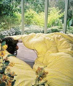 Discover recipes, home ideas, style inspiration and other ideas to try. My New Room, My Room, Diy Inspiration, Room Goals, Quilt Cover Sets, Mellow Yellow, Bright Yellow, Looks Cool, Dream Bedroom