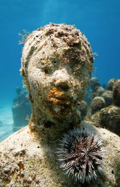 Jason de Caires Taylor Breathtaking Underwater Sculptures......so amazing, so clever, a true inspiration!