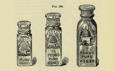 honey jar engraving