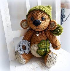 Ay / Háčkovaný medvídek