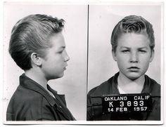 Car Thief  14 FEB 1957. Precocious little dude.