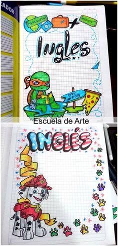 Hand Lettering Alphabet, Calligraphy Letters, Notebook, Ninja, Bullet Journal, School, Drawings, Ideas, Custom Notebooks