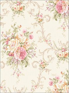 wallpaperstogo.com WTG-106245 Seabrook Designs Traditional Wallpaper