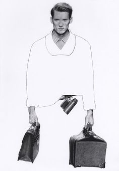 COUTE QUE COUTE: »AN ILLUSTRATED LOOK AT MODERN MEN'S FASHION« ILLUSTRATIONS BY RICHARD KILROY FOR PONYSTEP