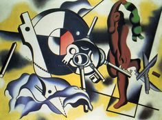 Contrast of object - Fernand Leger, 1930 Gif Sur Yvette, Cubism Art, Art Database, French Artists, Oeuvre D'art, Les Oeuvres, New Art, Printmaking, Sculptures