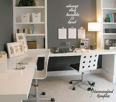 Home office furniture layout lamps 53 Ideas Home Office Space, Small Office, Home Office Design, Home Office Furniture, Home Office Decor, Home Design, Office Spaces, Furniture Ideas, Furniture Layout