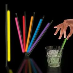 Variety Pack Glow Straws - 5 Inch, 25 Pack $8.00