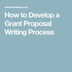 How Do I Write A Grant Proposal For My Individual Project Where
