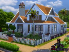 A lovely house which is suitible for large families. Found in TSR Category 'Sims 4 Residential . A lovely house which is suitible for large families. Sims 2 House, Sims 4 House Plans, Sims 4 House Design, Sims Building, Building A House, Sims 4 Family, Casas The Sims 4, Play Sims, Sims 4 Characters