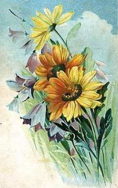 vintage mother's day images | This Vintage Mother Day Greeting Card Free For You Download