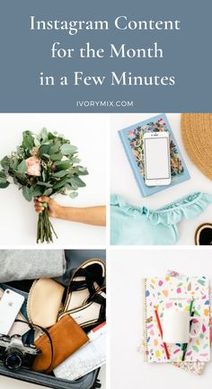 Instagram content for the month in a few minutes Social Media Marketing Business, Social Media Tips, Make Money Blogging, How To Make Money, Money Pictures, Instagram Tips, Pinterest Marketing, How To Start A Blog, Business Tips