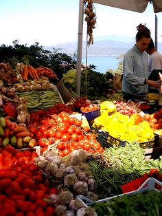 Isola d'Elba, Capoliveri, mercato del giovedì