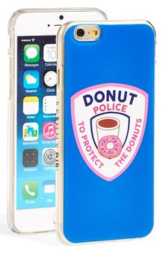 Free shipping and returns on SKINNY DIP Skinnydip 'Donut Police' iPhone 6 & 6s Case at Nordstrom.com. Prepare to go nuts for this donut-lovers phone case that protects your phone against bumps and drops while you protect donuts from going uneaten.