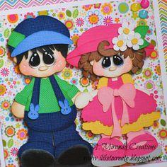 M. Miranda Creations - Easter Love Card