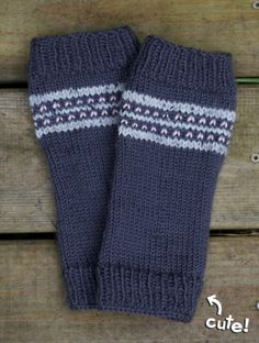 cute toddler legwarmers knitting pattern...instructions for in the round or flat
