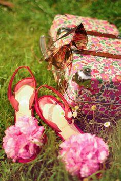 3D flowers shoes