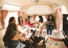 <p>The mobile salon can accommodate about two nail techs at a time, with enough seating for about six individuals.</p>
